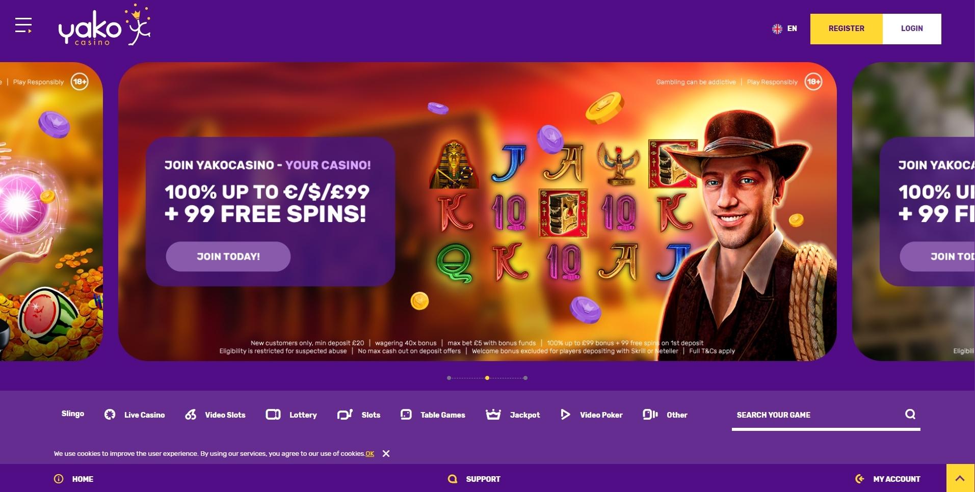 Yako Casino Bonus