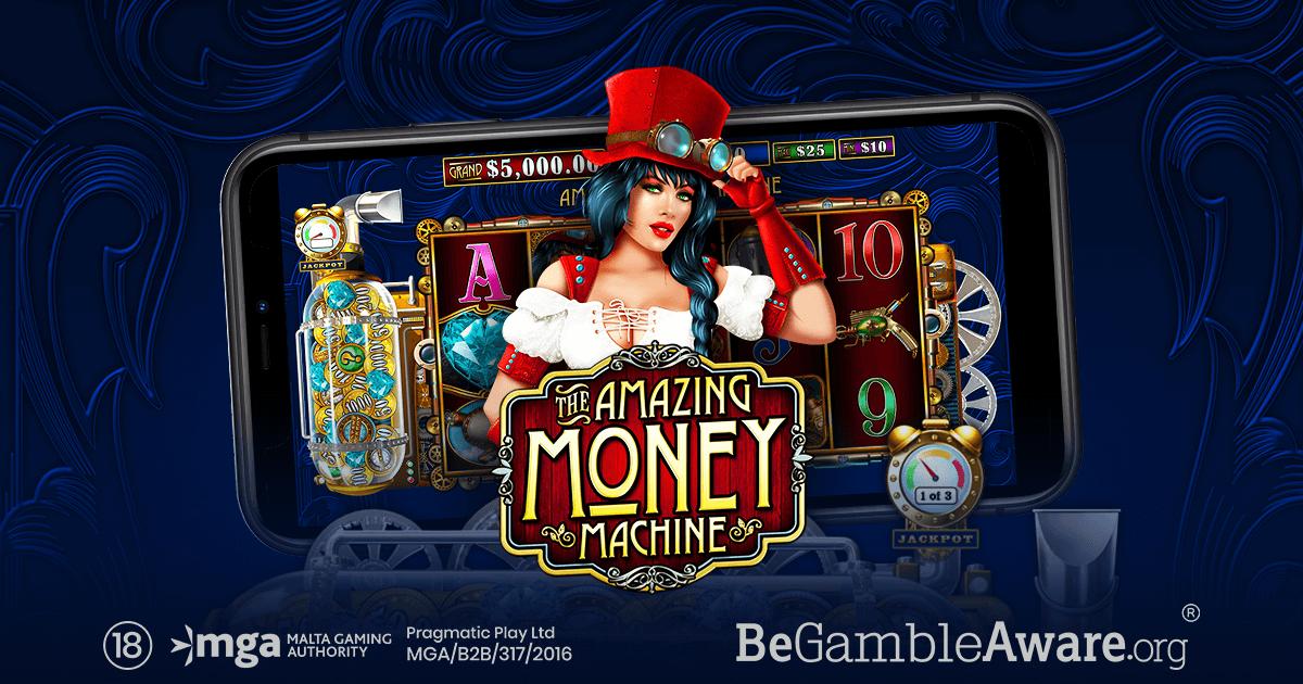 amazing money machine pragmatic play